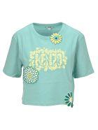 Kenzo Boxy 'mermaids & Flowers' T-shirt - AQUA