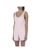 Nanushka Yael Vegan Leather Tank Top - Pink