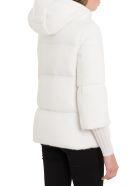 Herno Woolfur Down-jacket - Bianco