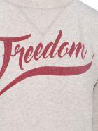 "Isabel Marant Étoile Im Etoile Isabel Marant étoile ""freedom"" Print Sweatshirt - ECRU"