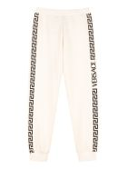 Young Versace Printed Sweatpants - White