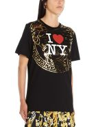 Versace 'i Love New York' T-shirt - Black