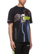 Palm Angels Short Sleeve T-Shirt - Nero multicolor