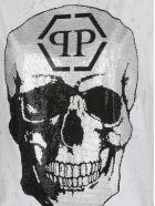 Philipp Plein Dress With Skull - WHITE
