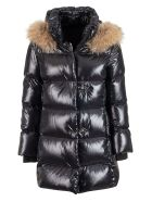 Fay Fur Trim Down Jacket