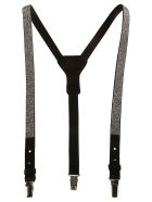 Ermanno Scervino Embellished Suspenders - black
