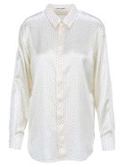 Saint Laurent Studded Shirt - CREAM