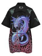 MM6 Maison Margiela Mm6 Shirt Drago - Basic