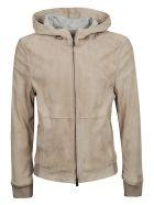 Corneliani Hooded Jacket - Brown