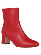 Stuart Weitzman Niki 60 Bootie - Follow me red