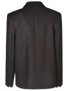 Nina Ricci Double Breasted Two-button Short Blazer
