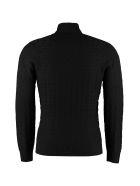Drumohr Wool Turtleneck Sweater - blue