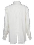 Victoria Beckham Slash Black Shirt - White