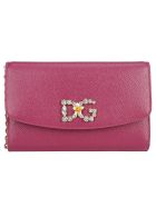Dolce & Gabbana Mini Cross Body - Fuxia