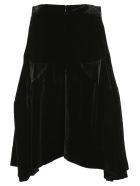 Vivienne Westwood Anglomania Anglomania Asymmetric Skirt - BLACK