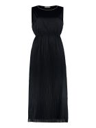 Fabiana Filippi Pleated Tulle Dress - blue