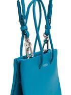 Medea Short Long Crossbody Bag - Light blue