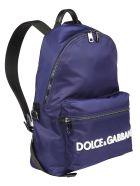 Dolce & Gabbana Dolce E Gabbana Backpack - Blu scuro/bianco