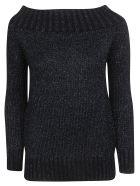 Charlott Charlott Knitted Jumper - Blu