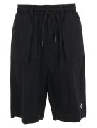 Marcelo Burlon Bermuda Shorts - Black white
