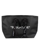Off-White Commercial Tote - Black/White