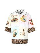 Dolce & Gabbana Printed Bowling Shirt - Multicolor