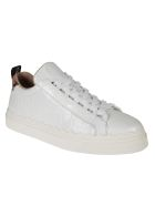 Chloé Western Snake Detailed Sneakers - White