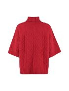 Max Mara Studio Sandalo Wool And Cashmere Sweater - red