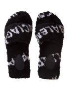 Balenciaga Fluffy Sandal - Nero