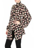 Rokh Shirt With Flower Print - MULTI (Black)