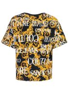 Versace Jeans Couture T-shirt S/s Fantasy - Black