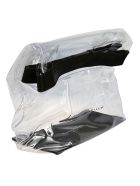 Simon Miller Transparent Clutch - Clear Black