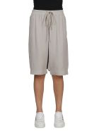 Rick Owens Dropped Crotch Shorts - Beige