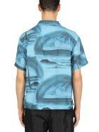 Stussy Island Shirt - Azzurro