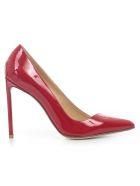 Francesco Russo Asymmetric Line Pumps - Red