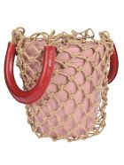 STAUD Moreau Bucket Bag - Pink