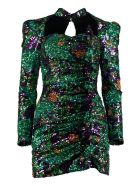 Giuseppe di Morabito Sequins Mini-dress - green