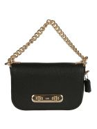 Coach Swagger 20 Shoulder Bag - Black