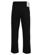 Raf Simons Raf Simons Cropped Straight Jeans - BLACK
