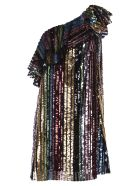 In The Mood For Love Amy Dress - Multicolor