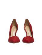 Schutz High Heel Pumps - Red transparent