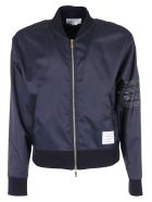 Thom Browne Bomber Jacket - Blue