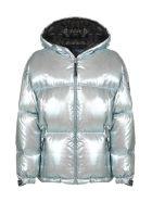 Prada Linea Rossa Puffer Jacket - Argento