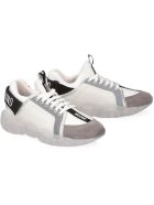 Moschino Teddy Low-top Sneakers - White