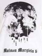MM6 Maison Margiela 'skull' T-shirt - White