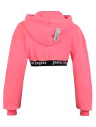 Palm Angels Branded Sweatshirt - Pink