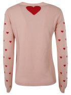 RED Valentino Woven Sweater - Pink