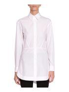 Alaia Cotton-poplin Shirt - Bianco