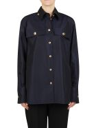 Givenchy Button Up Shirt - MIDNIGHT BLUE