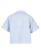 Acne Studios Striped Blouse - Blue